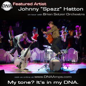 Spazz Iconic Setzer Photo