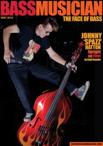 Johnny Hatton Bass Musician Magazine Cover
