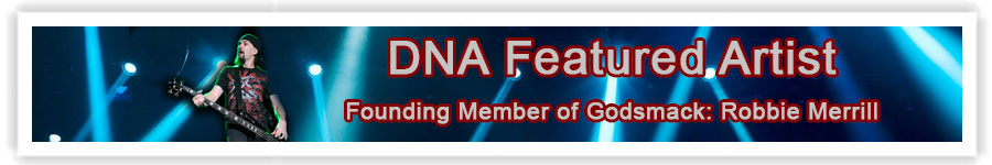 DNA Artist Of The Month Robbie Merrill